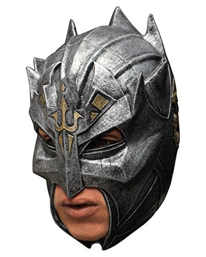 Mittelalterliche Kostüme Erwachsene Krieger Für (Dragon Warrior Maske aus Latex als Mittelalter & Fantasy)