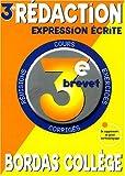 Rédaction expression écrite 3ème brevet