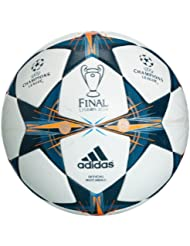 adidas Finale Lisbon Official Match Ballon de football Blanc/Triblu/Solblu Taille 5
