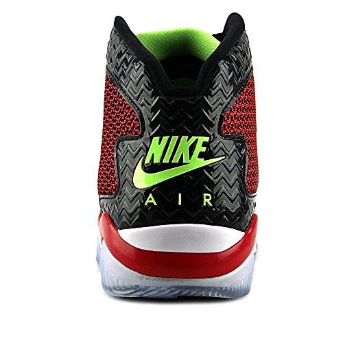 Nike Air Jordan Spike Forty, Chaussures de Sport Homme, Taille Rouge / Vert / Noir / Blanc (Unvrsty Red / Ghst Grn-Blk-White)