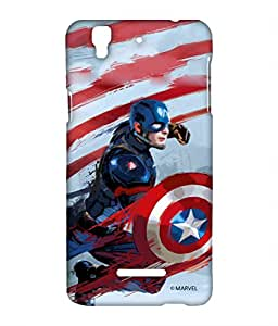 Block Print Company Captain Strokes Phone Cover for Yu Yureka
