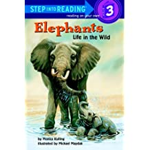 Elephants: Life in the Wild (Step Into Reading - Level 3 - Quality)