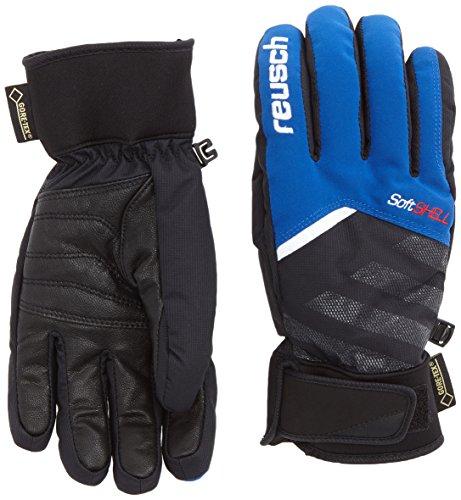 Reusch 4501329_455_8 - Guanti da sci uomo, 8, colore: Blu Imperial Blue/Black