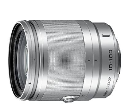 Nikon 1 Nikkor - Objetivo (VR 10-100mm, 1:4-5,6, PD-Zoom), plata