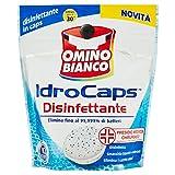 Omino Bianco Idrocaps Igienizzante, Ipoallergenico, 10 Capsule - 200 gr