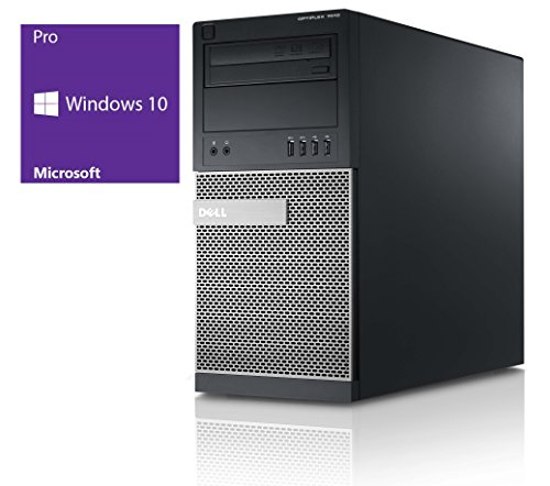 Dell Optiplex 7010 | Büro Computer/Internet PC | Intel Core i5-3570 @ 3,4 GHz | 8GB DDR3 RAM | 500GB HDD | DVD-Brenner | Windows 10 Pro vorinstalliert (Zertifiziert und Generalüberholt)