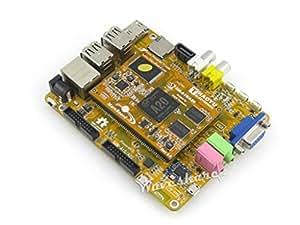 Waveshare MarsBoard A20 Allwinner A20 Dual Core ARM Cortex A7 Dual Core Mali-400 GPU Mars Mars Board Development Kit Mini PC