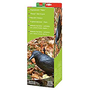 Swissinno Solution 1582001K Répulsif oiseaux-corbeau Noir 14 x 40 x 12 cm