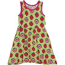 Maxomorra diseño de fresas niña sin mangas Reunidos vestido