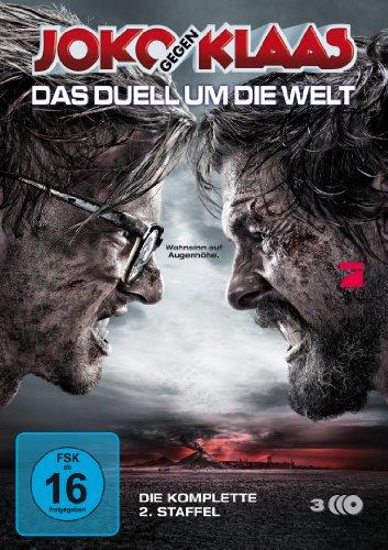Joko gegen Klaas - Das Duell um die Welt: Die komplette zweite Staffel [3 DVDs] (Dvd-duell)