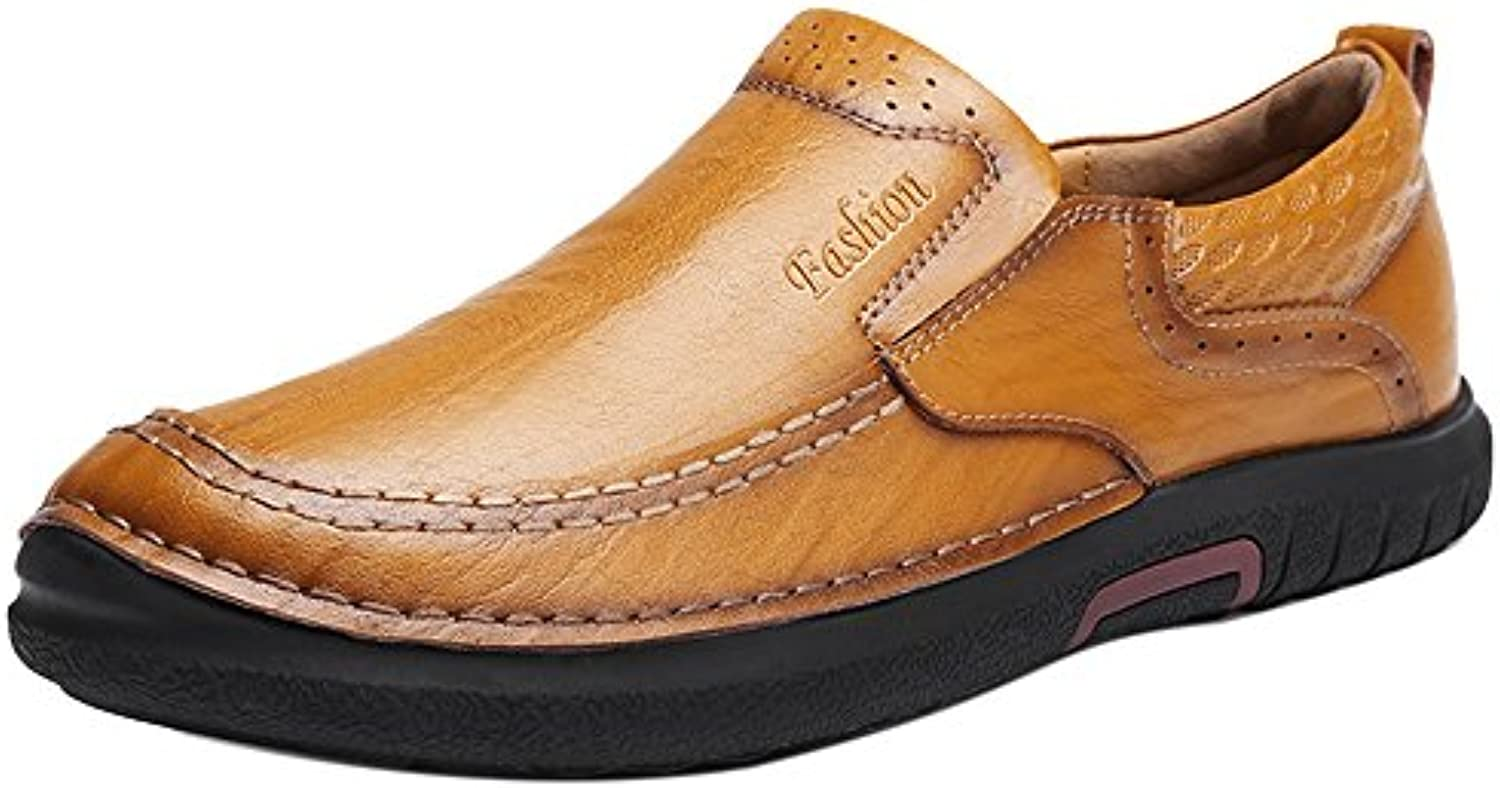 COOLCEPT Hombre Casual Zapatos Loafers sin Cordones