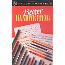 Better Handwriting (Teach Yourself Series) by Rosemary Sassoon (1994-08-24)