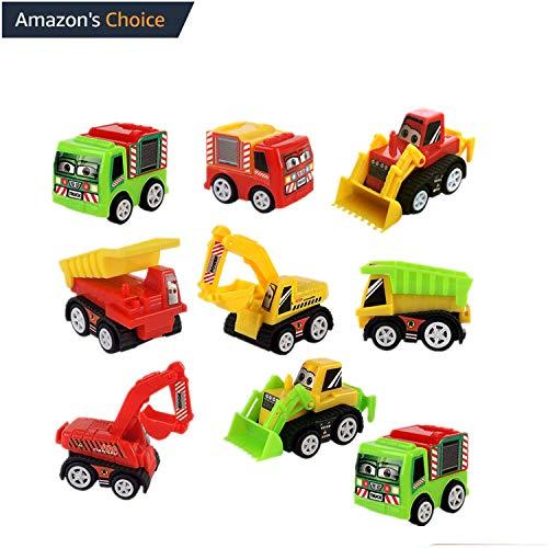 Engins de chantier jouet modèle de transport véhicule de construction 9 enfants de plus de 3 ans