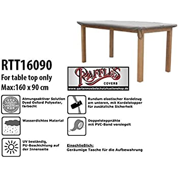 Amazon De Raffles Covers Rtt16090 Abdeckung Fur Tischplatten 160 X