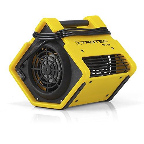 TROTEC Turbolüfter TFV 10 | Ventilator | Lüfter | Radial | Gebläse | Trocknung | Windmaschine | Baugebläse | Raumtrocknung | Unterbodentrocknung | Bautrockner | Raumtrockner