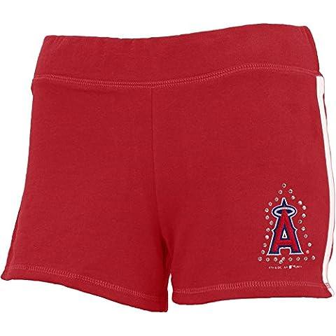 Los Angeles Angels–logotipo de para niñas jóvenes Athletic pantalones cortos