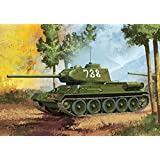 "T34/85 Tank ""No. 112 Factory Production"" - 1:35 Plastic Kit by Academy"