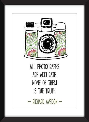 richard-avedon-todas-las-fotografias-son-exactas-impresion-de-la-tipografia-de-la-cita-ideal-para-lo