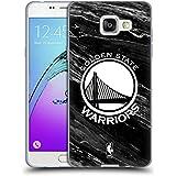 Officiel NBA B&W Marbre Golden State Warriors Étui Coque en Gel molle pour Samsung Galaxy A5 (2016)