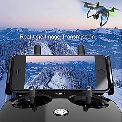 Goolsky-1 ATTOP W GPS RC Drone with Camera 1080P 2.4G Wifi FPV Follow Me Surround Mode Auto Return Altitude Hold Quadcopter