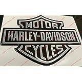 Escudo Logo Decal Harley Davidson, Classic Logo, adhesivo, resina efecto 3d. Para depósito o casco