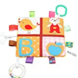 Newin Star Toalla de Baño para bebé, Toalla de Calma, Manta con Etiqueta (Bonito Oscuro) Cute Bear