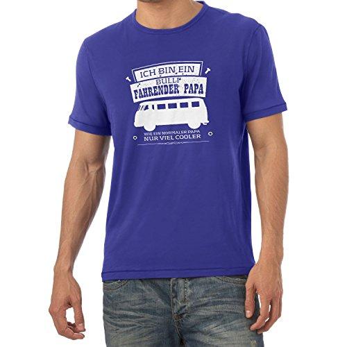 Texlab Ich Bin ein Bulli Fahrender Papa - Herren T-Shirt, Größe M, Marine (Marine-freundin-t-shirt)