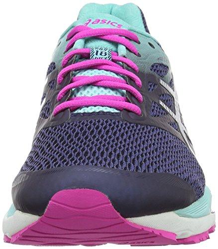 Asics Gel Cumulus 18, Chaussures de Running Entrainement Femme Bleu (Blue)