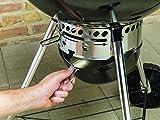 Weber Original Kettle Premium Grill, schwarz, 51,5 x 55 x 89 cm, 13401004 -