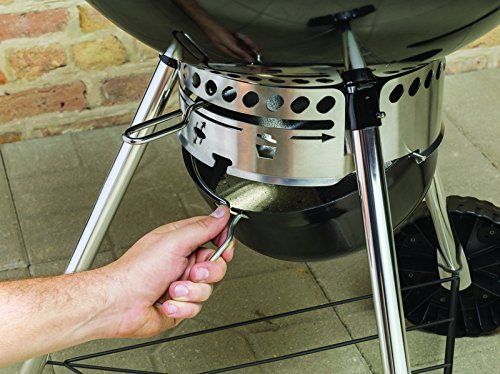 Weber 57cm master touch charcoal kettle barbecue bbq for Weber master touch