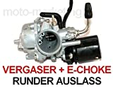 Unbranded VERGASER 12mm AUTOMATIK Choke für Pegasus SOLERO Sky 1 I 2 II Express 50 2TAKT
