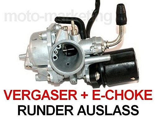 Preisvergleich Produktbild VERGASER 12mm AUTOMATIK CHOKE für PEGASUS SOLERO SKY 1 I 2 II EXPRESS 50 2TAKT