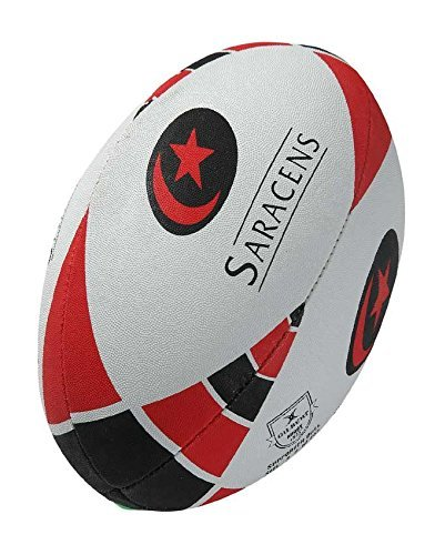 GILBERT - Saracens Replika-Fan-Rugbyball