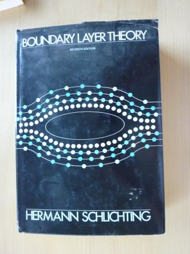 Boundary Layer Theory (Mcgraw-Hill Series in Mechanical Engineering)