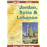 Jordan, Syria & Lebanon travel atlas (Lonely Planet Travel Atlas)