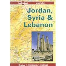 Jordan, Syria & Lebanon travel atlas (Lonely Planet Travel Atlas)