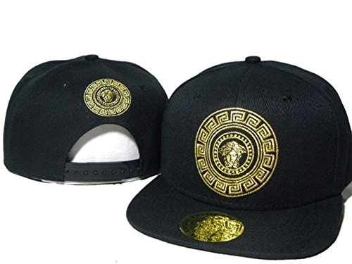 fashion-versace-black-with-gold-logo-snapback