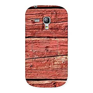 Pale Red Designer Back Case Cover for Galaxy S3 Mini