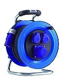 HEDI Camping-Kabeltrommel, 1 Stück, blau/schwarz, K2Y40N2TFC