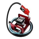 Olibelle Pompe à Huile Pour Vidange 40L/min Pompe à Fuel Ou Gasoil 600W Pompe à Huile Electrique...