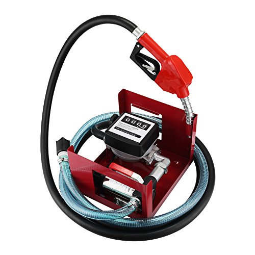 Preisvergleich Produktbild BananaB Dieselpumpe Heizölpumpe 40L / min Selbstansaugende Ölpumpe 300W Ölabsaugpumpe 220V Selbstansaugend Zählwerk Automatik Pumpe (220V)