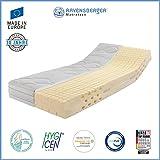 Ravensberger Ergo-Med® 70 7-Zonen MDI+HR Kaltschaummatratze H3 RG 70 (70-110 kg) Green-Cotton® 90x200 cm