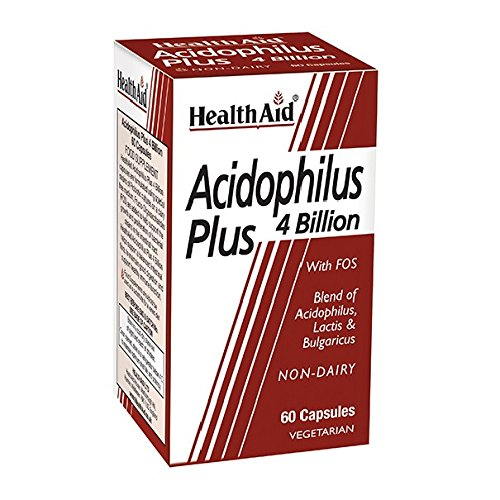 HealthAid Acidophilus Plus (4 Billion) - 60 Capsules
