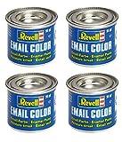 4 Revell 14ml Email Farben für Modellbau - Sie können die Farben wählen