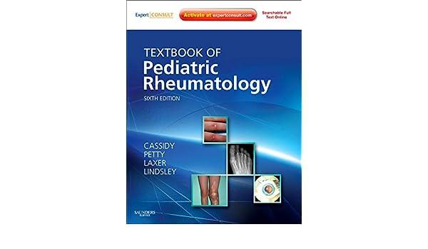 Buy Textbook Of Pediatric Rheumatology (Cassidy, Textbook of