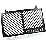 Protections radiateur Suzuki SV 650 16-17 noir logo