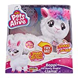ZURU PETS ALIVE Boppi The Booty Shakin' Llama, White