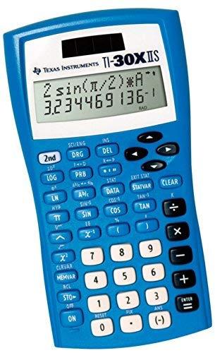 Texas Instruments TI 30 XIIS wissenschaftlicher Rechner Blau