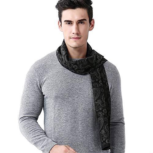 Belingeya Wrap-Schals für Herren Herren Herbst und Winter Business Cashew warme Schal gestrickte weiche thermische Schal Bekleidungszubehör ()