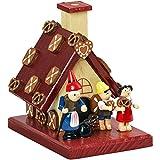 yanka-style Räucherhaus Räucherhäuschen Hänsel & Gretel aus Holz, Weihnachten Advent Geschenk (30215)